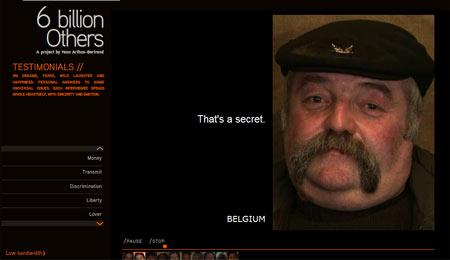 Belgier zum Thema 'Amour'