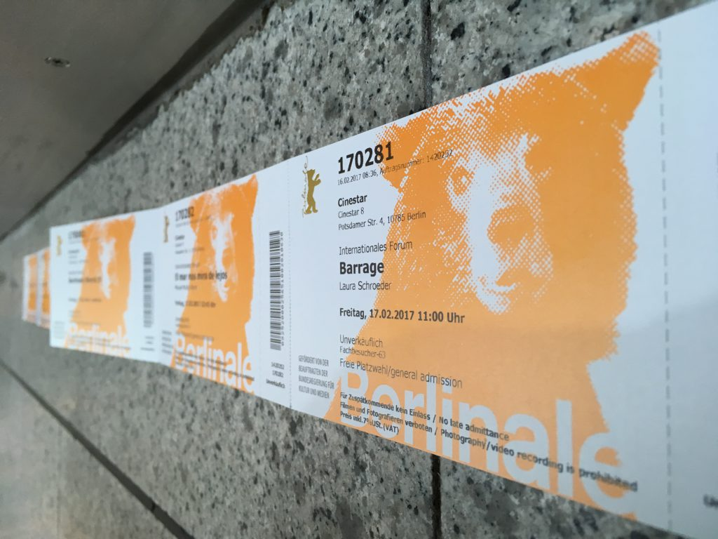 Tickets Berlinale 2017