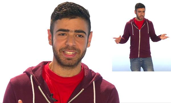Naji Hizwani Zarour erzählt seine Flucht aus Syrien nach Deutschland