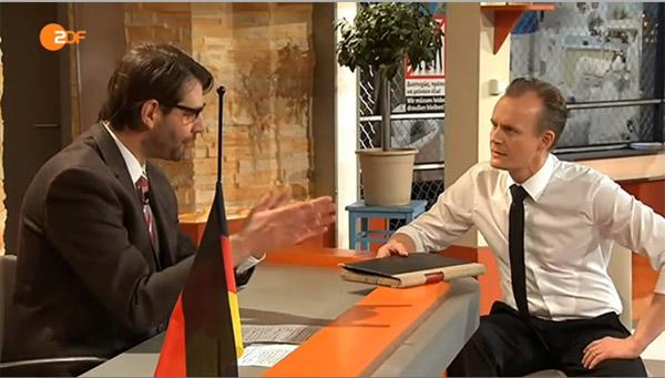 Claus von Wagner & Max Uthoff, Die Anstalt, 31.03.2015
