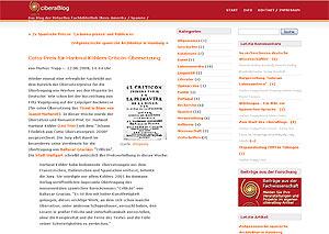 ciberaBlog - Hispanistisches Fachblog