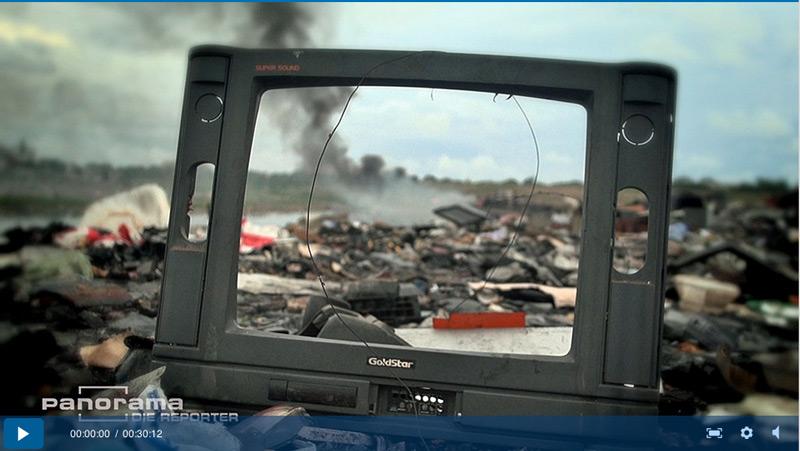 Wo landen unsere Schrottfernseher?