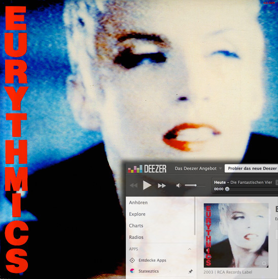 Eurythmics – Be Yourself Tonight
