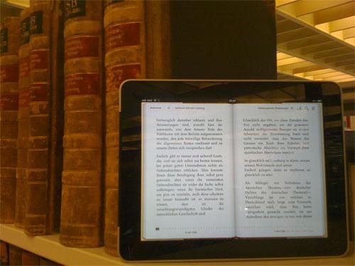 «Mit dem iPad die Angebote der Stabi nutzen»