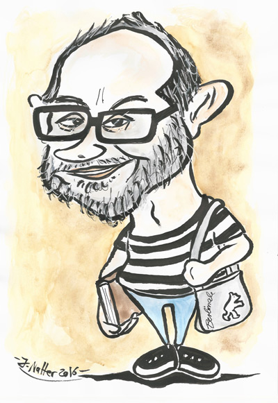 Karikatur von Jens Natter