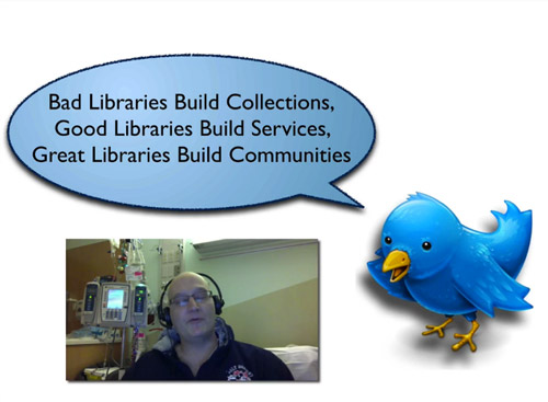 David Lankes: Great libraries…