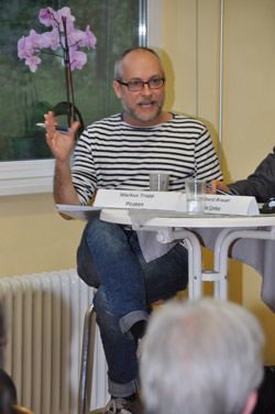 Podiumsdiskussion in Rahlstedt