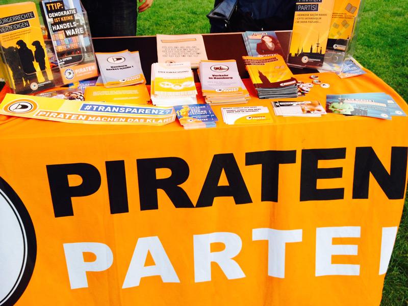 Piratenstand Wandsbek