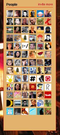Mein Twitternetzwerk - aufbauend auf gemeinsamen Interessen